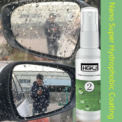 HGKJ-2 Car Glass Rainproof Agent Nano Auto Glass Hydrophobic Coating safe FT