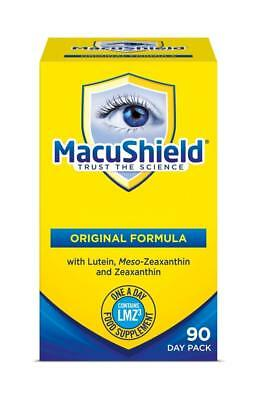 Macushield Capsules 90's Eye Supplement UK seller New Packaging Free Delivery
