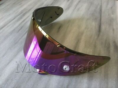Rainbow Helmet Visor for Shoei CWR-1 NXR RF-1200 X-Spirit 3 X-Fourteen Z-7