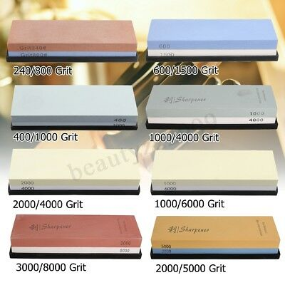 600/1500 2000/5000 3000/8000 Grit  Sharpening Water Stone Dual Whetstone