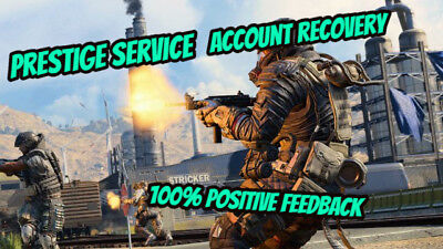 Call of Duty Black Ops 4 Prestige Service (Account Recovery - PS4)