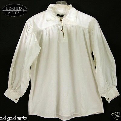 Cotton Shirt for costume and Reenactment, Larp, Fancy Dress and Cosplay