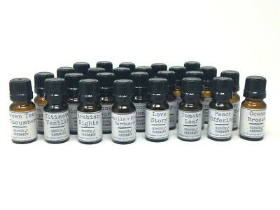 Home Fragrance Oil Liquid Candles Wickless for any Burner/Warmer - Choose Scent