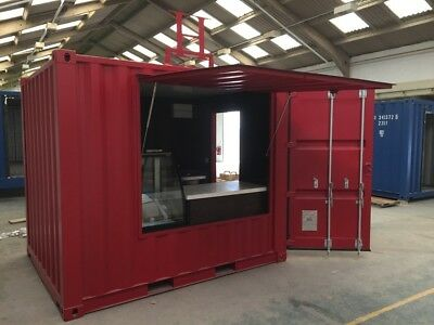 Converted Shipping Container - Café / Coffee Shop 10ft or 20ft available