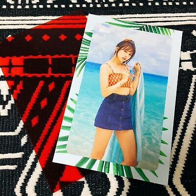 [TWICE MINA] Message Photocard Official New Summer Nights 2nd Special 미나