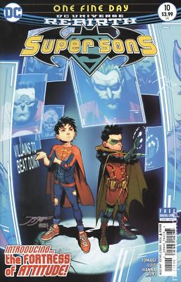 Super Sons (DC) #10A 2018 Jimenez Variant VF Stock Image