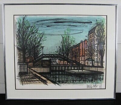 Astounding Bernard Buffet Mid Century Lithograph Le Port De La Home Interior And Landscaping Palasignezvosmurscom