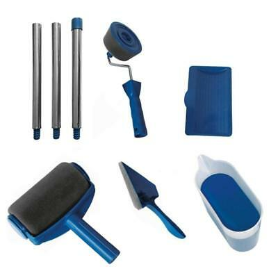 8pcs Home Room Wall Painting Roller Paint Runner Pro Roller Brush Tools Set