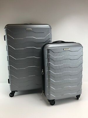 "Samsonite Tread Lite 2 Piece Expandable Hardside Spinner Luggage Set 24"" 20"" #FD"