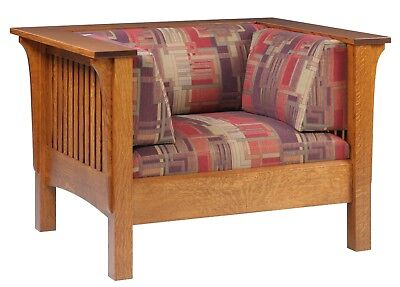 Mission Arts and Crafts Stickley Style Prairie Spindle Chair Made to Order
