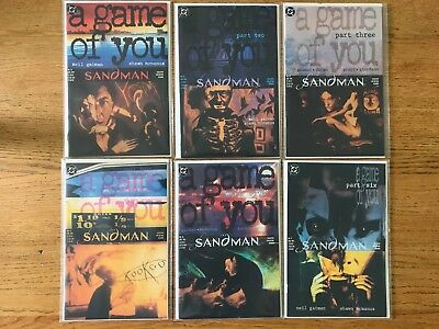 Sandman #32 to #37 A Game Of you all 6 parts. (DC 1991) 6 x issues