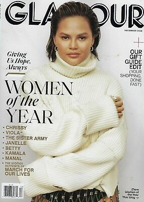 Glamour Magazine December 2018  Women of the Year