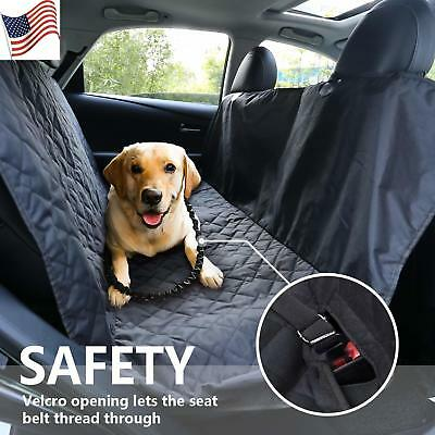 Waterproof Car Seat Covers for pets Hammock Cover Nonslip Duty Scratch Proof US