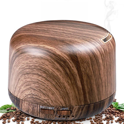 Aromatherapy Diffusers for Essential Oils, Wood Grain Oil Diffuser Humidifiers