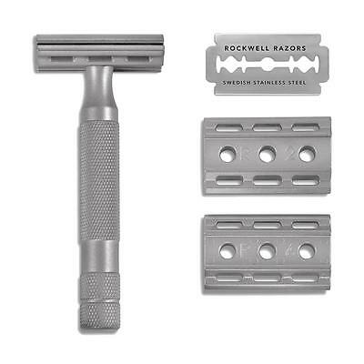 Rockwell Razors 6S Safety Razor - STAINLESS STEEL- New In Box