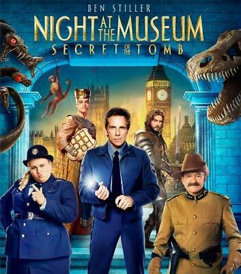 Night at the Museum: Secret of the Tomb (Blu-ray/DVD, 2015, 2-Disc, Digital) NEW