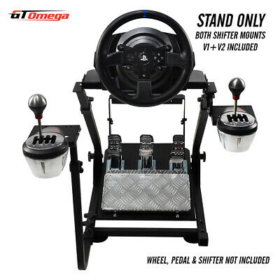 GT Omega Steering Wheel stand for Thrustmaster T300RS Racing & TH8A shifter PRO