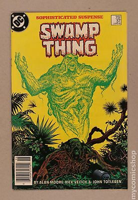 Swamp Thing (2nd Series) #37 1985 FN+ 6.5