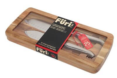 Furi Pro East West Santoku Knife Set, 2 Piece Free Shipping!