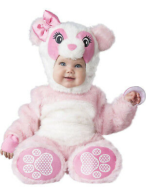 Lil Pink Panda Girls Infant Cute Animal Halloween Costume
