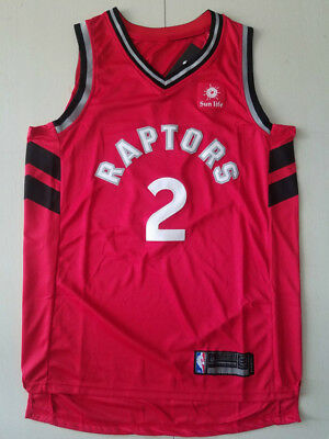 New Season Toronto Raptors #2 Kawhi Leonard Basketball Jersey Red Size:S-XXL