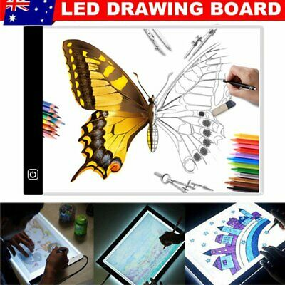 LED Light Box Tracing Drawing Board A3 A4 Art Design Pad Copy Lightbox Day&Light