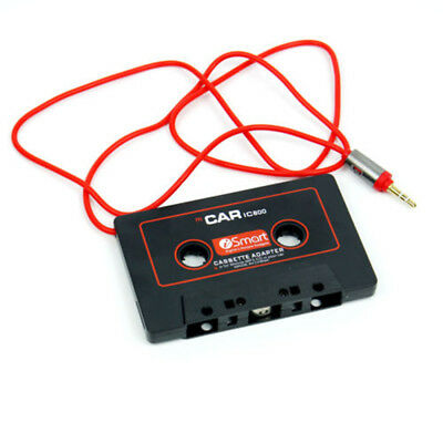 Audio 3.5mm Cassette Tape Adapter Aux Cable Cord Jack for to MP3 iPod CD Player