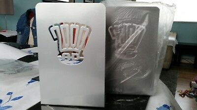 2000ad, pair of bookends - Hachette Partworks subscription exclusive