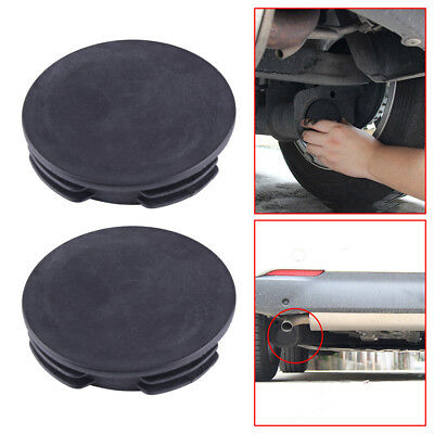 Exhaust Tail Pipe Cap Water Baffle Cover For Smart Fortwo Forfour W451 08-14 Fab