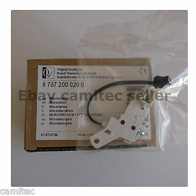 Bosch / Junkers microswitch 8 707 200 020 0
