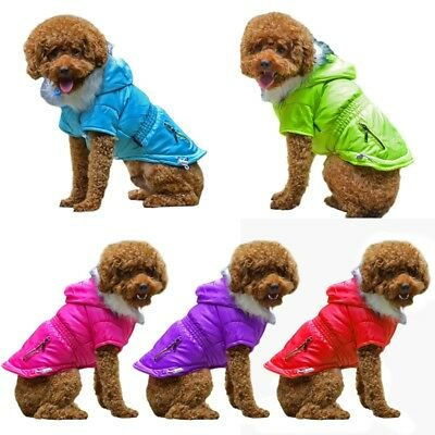 Pet Small Dogs Clothing Padded Vest Harness Puppy Winter Clothes Coat Apparel