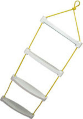 Boat Safety Rope Ladder 2 Step Boat Boarding Ladder Yacht Sailing New KS8 DEX