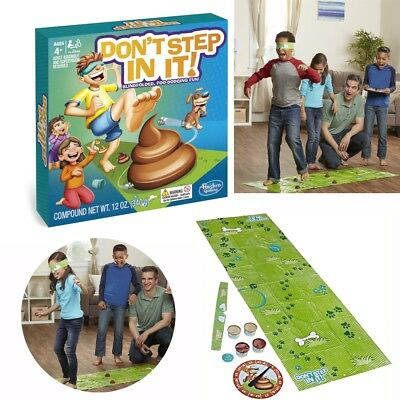 Don't Step In It Game Blindfolded Poo-Dodging Fun Home Family Party Game Toys UK