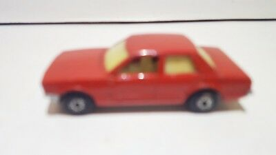 Matchbox Lesney Superfast 55 Ford Cortina Opaque windows no box good condition
