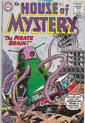 House Of Mystery #96 Silver Age DC Comics VG
