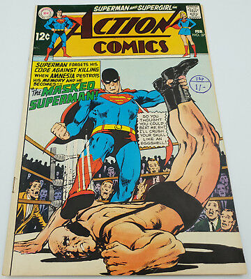 Action Comics #372 Silver Age DC Comics Neal Adams (cover) F/VF