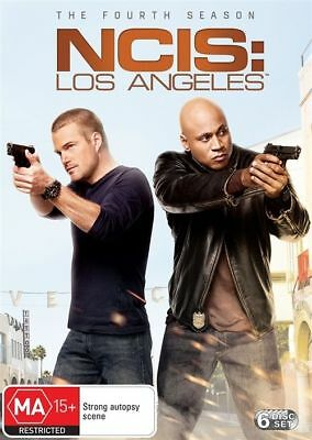 B56 BRAND NEW SEALED NCIS - Los Angeles : Season 4 (DVD, 2013, 6-Disc Set)