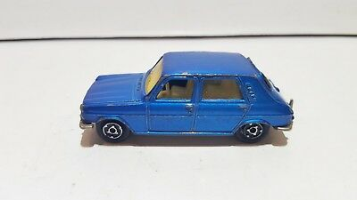 Vintage Majorette 234 Simca 1100 TI green 1/60 used very good condition France