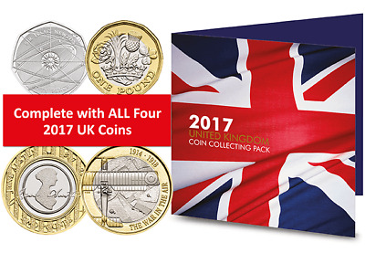 Complete 2017 Commemorative Coin Pack [Ref: 851M]