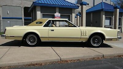 Lincoln: Mark Series lincoln mark v  1977