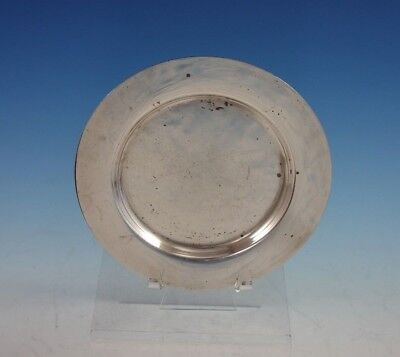 """Round by Porter Blanchard Sterling Silver Bread and Butter Plate 6"""" (#2933)"""