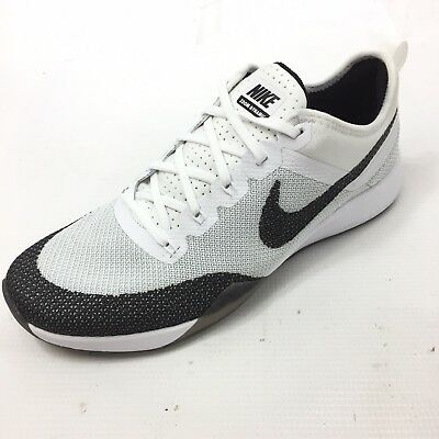 ad46f970e851 NIKE Air Zoom Tr Dynamic Women s White Sneakers Trainers US 8.5 UK 6 EUR 40  NEW