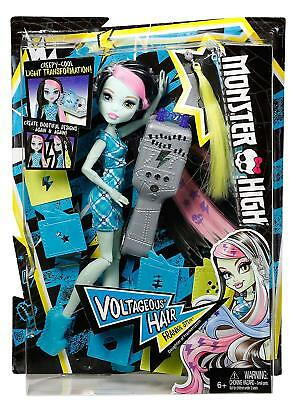 New Official Monster High Voltageous Hair Frankie Stein Doll