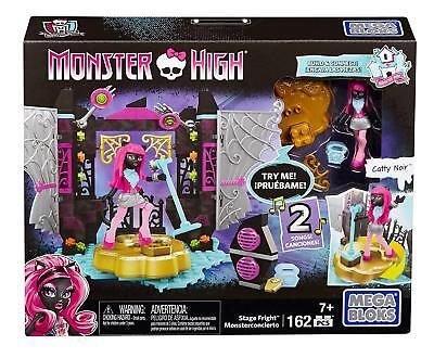 New Official Monster High Stage Freight Catty Noir Doll