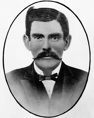 "New 8x10 Photo: Gambler and Gunfighter John ""Doc"" Holliday, American Old West"