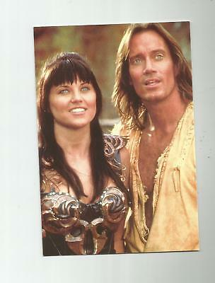 Xena Warrior Princess And Hercules Postcard Lucy Lawless Tv Show