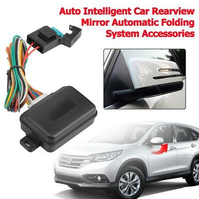 Universal Auto Car Rearview Mirror Automatic Folding System Modules Accessories