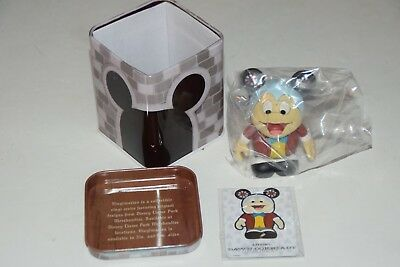 "DISNEY Vinylmation 3"" Park Set 1 Annual Passholder Mr. Toad with Tin and Card"