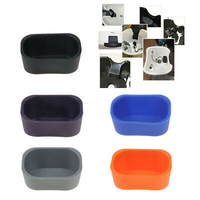 Silicone Neck Rest Cushion Pad Cover for Salon Shampoo Basin Bowl Backwash