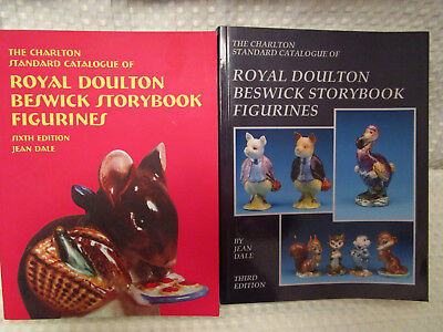 Royal Doulton Beswick Storybook Figurines Catalogue Prices Both 3 & 6th Edition